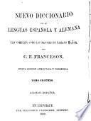 Nuevo diccionario de las lenguas española y alemana