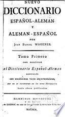Nuevo diccionario espanol-aleman y aleman-espanol
