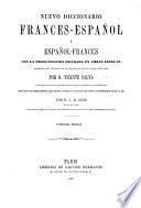 Nuevo diccionario frances-español-frances