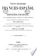 Nuevo diccionario frances-español y español-francés