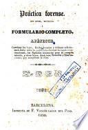 Nuevo manual de práctica forense, 4 (Apèndix)