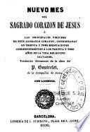 Nuevo mes del Sagrado Corazon de Jesus, o Las principales virtudes de este adorable corazon