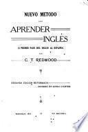 Nuevo me̲todo para aprender ingle̲s, o, Primer pasodal ingle̲s al espan̲ol