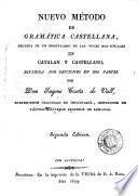 Nuevo método de gramática castellana