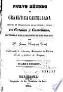 Nuevo método de gramatica castellana