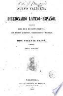 Nuevo Valbuena ó Diccionario latino-español