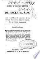 Nuevo y seguro método de hacer el vino