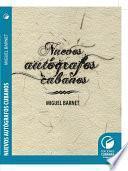 Nuevos autógrafos cubanos