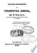 Nuevos elementos de terapéutica jeneral (sic)