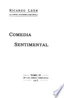 Obras completas: Comedia sentimental