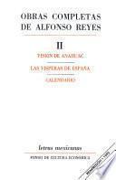 Obras completas de Alfonso Reyes, II