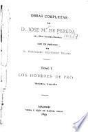 Obras completas de D. José M. de Pereda