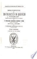 Obras completas de Don Francisco de Quevedo Villegas: Poesías