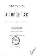 Obras completas de Don José Clemente Fabres