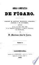 Obras completas de Fígaro [pseud.]