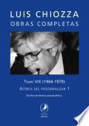 Obras completas de Luis Chiozza. Tomo VIII