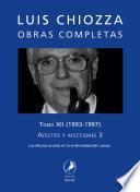 Obras completas de Luis Chiozza. Tomo XII
