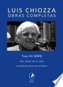 Obras completas de Luis Chiozza. Tomo XV