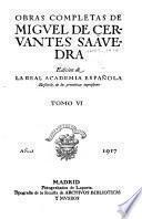 Obras completas de Miguel de Cervantes Saavedra