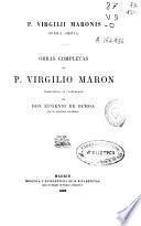 Obras completas de P. Virgilio Marón