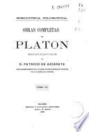 Obras completas de Platón: ( 347 p.)- T. V (366 p.)