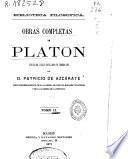 Obras completas de Platón: (349 p.)