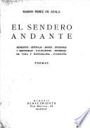Obras completas de Ramón Pérez de Ayala: El sendero andante. 1924
