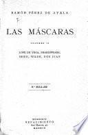 Obras completas de Ramón Pérez de Ayala: Las Máscaras. 1924