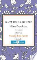 Obras Completas de Santa Teresa de Jesús (Anotado)