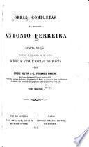 Obras completas do doutor Antonio Ferreira