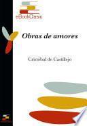Obras de amores (Anotado)