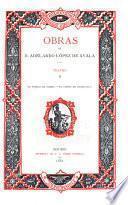 Obras de D. Adelardo López de Ayala: Teatro: El tejado de vidrio. El conde de Castralla