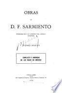 Obras de D.F. Sarmiento: Conflicto y armonías de las razas en América. 1900