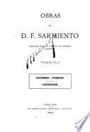 Obras de D.F. Sarmiento: Costumbres, progresos (continuación). 1900