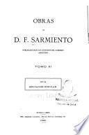 Obras de D.F. Sarmiento ...