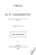 Obras de D. F. Sarmiento ...: Ideas pedagógicas. 1899