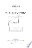 Obras de D. F. Sarmiento...: Legislación y progresos en Chile. 1914