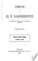 Obras de D. F. Sarmiento ...: Práctica constitucion. 1899-1900