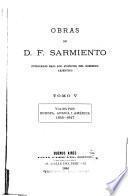 Obras de D. F. Sarmiento: Viajes por Europa, Africa i América. 1845- 1847. 1886