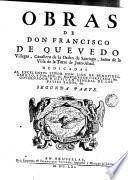 Obras de D. Francisco Quevedo Villegas
