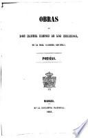 Obras de D. Manuel Breton de los Herreros, de la Real academia española: Poesías
