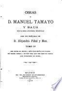 Obras de D. Manuel Tamayo y Baus, 4