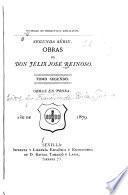 Obras de Don Félix José Reinoso ...: Obras en prosa