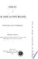 Obras De Don Jose Jacinto Milanes
