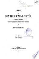 Obras de Don Juan Donoso Cortés, Marqués de Valdegamas