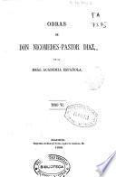 Obras de Don Nicomedes-Pastor Díaz de la Real Academia Española: Controversia parlamentaria (XXI, 372 p.)