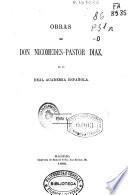 Obras de Don Nicomedes-Pastor Díaz de la Real Academia Española