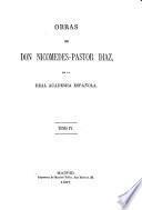 Obras de don Nicomedes-Pastor Diaz ...