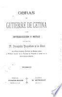 Obras de Gutierre de Cetina