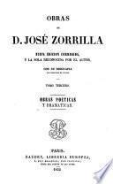 Obras de José Zorrilla con su biografía por Ildef. de Ovejas